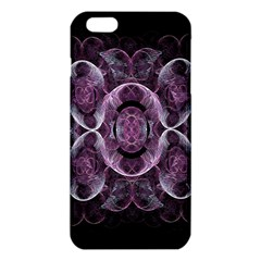 Fractal In Lovely Swirls Of Purple And Blue iPhone 6 Plus/6S Plus TPU Case