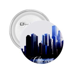 Abstract Of Downtown Chicago Effects 2.25  Buttons