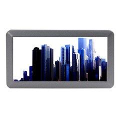 Abstract Of Downtown Chicago Effects Memory Card Reader (Mini)