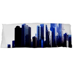Abstract Of Downtown Chicago Effects Body Pillow Case (Dakimakura)