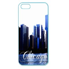 Abstract Of Downtown Chicago Effects Apple Seamless iPhone 5 Case (Color)