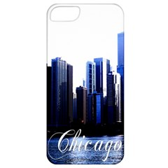 Abstract Of Downtown Chicago Effects Apple Iphone 5 Classic Hardshell Case