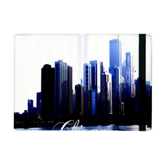 Abstract Of Downtown Chicago Effects Apple iPad Mini Flip Case