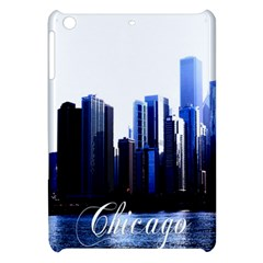 Abstract Of Downtown Chicago Effects Apple iPad Mini Hardshell Case