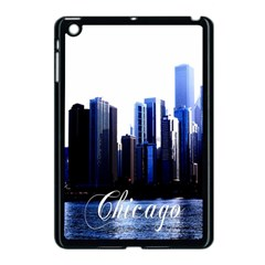 Abstract Of Downtown Chicago Effects Apple Ipad Mini Case (black)