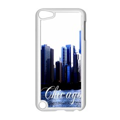 Abstract Of Downtown Chicago Effects Apple iPod Touch 5 Case (White)