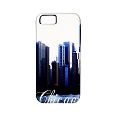 Abstract Of Downtown Chicago Effects Apple iPhone 5 Classic Hardshell Case (PC+Silicone)