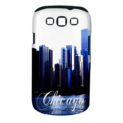 Abstract Of Downtown Chicago Effects Samsung Galaxy S III Classic Hardshell Case (PC+Silicone)