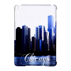 Abstract Of Downtown Chicago Effects Apple iPad Mini Hardshell Case (Compatible with Smart Cover)