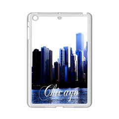 Abstract Of Downtown Chicago Effects iPad Mini 2 Enamel Coated Cases