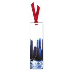 Abstract Of Downtown Chicago Effects Small Book Marks