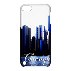 Abstract Of Downtown Chicago Effects Apple iPod Touch 5 Hardshell Case with Stand