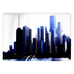 Abstract Of Downtown Chicago Effects Samsung Galaxy Tab 10.1  P7500 Flip Case