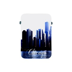 Abstract Of Downtown Chicago Effects Apple iPad Mini Protective Soft Cases