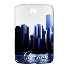 Abstract Of Downtown Chicago Effects Samsung Galaxy Note 8.0 N5100 Hardshell Case