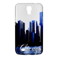 Abstract Of Downtown Chicago Effects Samsung Galaxy Mega 6.3  I9200 Hardshell Case