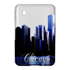 Abstract Of Downtown Chicago Effects Samsung Galaxy Tab 2 (7 ) P3100 Hardshell Case