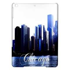 Abstract Of Downtown Chicago Effects Ipad Air Hardshell Cases
