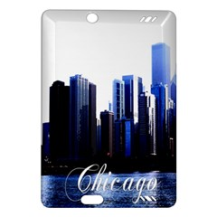 Abstract Of Downtown Chicago Effects Amazon Kindle Fire HD (2013) Hardshell Case