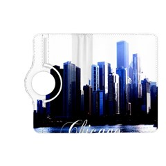 Abstract Of Downtown Chicago Effects Kindle Fire HD (2013) Flip 360 Case