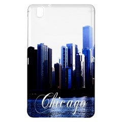 Abstract Of Downtown Chicago Effects Samsung Galaxy Tab Pro 8.4 Hardshell Case