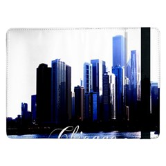 Abstract Of Downtown Chicago Effects Samsung Galaxy Tab Pro 12.2  Flip Case