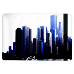Abstract Of Downtown Chicago Effects iPad Air Flip