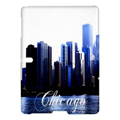 Abstract Of Downtown Chicago Effects Samsung Galaxy Tab S (10.5 ) Hardshell Case
