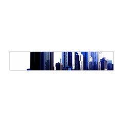Abstract Of Downtown Chicago Effects Flano Scarf (mini)