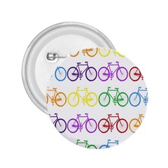 Rainbow Colors Bright Colorful Bicycles Wallpaper Background 2 25  Buttons