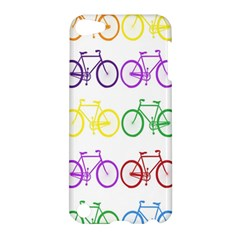 Rainbow Colors Bright Colorful Bicycles Wallpaper Background Apple iPod Touch 5 Hardshell Case