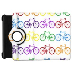 Rainbow Colors Bright Colorful Bicycles Wallpaper Background Kindle Fire HD 7