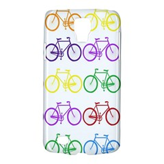 Rainbow Colors Bright Colorful Bicycles Wallpaper Background Galaxy S4 Active