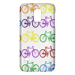 Rainbow Colors Bright Colorful Bicycles Wallpaper Background Galaxy S5 Mini