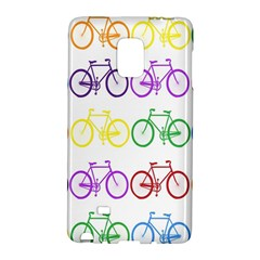 Rainbow Colors Bright Colorful Bicycles Wallpaper Background Galaxy Note Edge