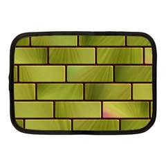 Modern Green Bricks Background Image Netbook Case (medium)