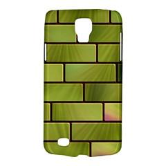 Modern Green Bricks Background Image Galaxy S4 Active