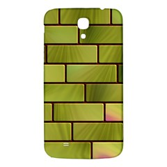 Modern Green Bricks Background Image Samsung Galaxy Mega I9200 Hardshell Back Case