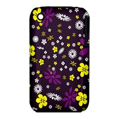 Flowers Floral Background Colorful Vintage Retro Busy Wallpaper Iphone 3s/3gs