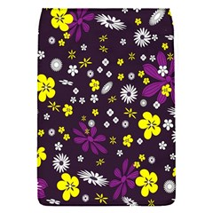 Flowers Floral Background Colorful Vintage Retro Busy Wallpaper Flap Covers (s)