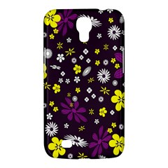 Flowers Floral Background Colorful Vintage Retro Busy Wallpaper Samsung Galaxy Mega 6.3  I9200 Hardshell Case