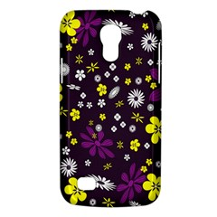 Flowers Floral Background Colorful Vintage Retro Busy Wallpaper Galaxy S4 Mini