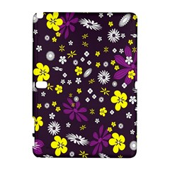 Flowers Floral Background Colorful Vintage Retro Busy Wallpaper Galaxy Note 1