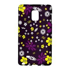 Flowers Floral Background Colorful Vintage Retro Busy Wallpaper Galaxy Note Edge