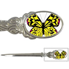 Yellow A Colorful Butterfly Image Letter Openers