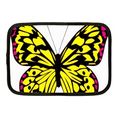Yellow A Colorful Butterfly Image Netbook Case (medium)