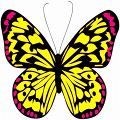 Yellow A Colorful Butterfly Image Magic Photo Cubes