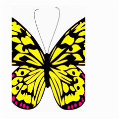 Yellow A Colorful Butterfly Image Large Garden Flag (Two Sides)