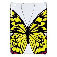 Yellow A Colorful Butterfly Image Apple iPad Mini Hardshell Case