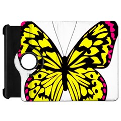 Yellow A Colorful Butterfly Image Kindle Fire HD 7